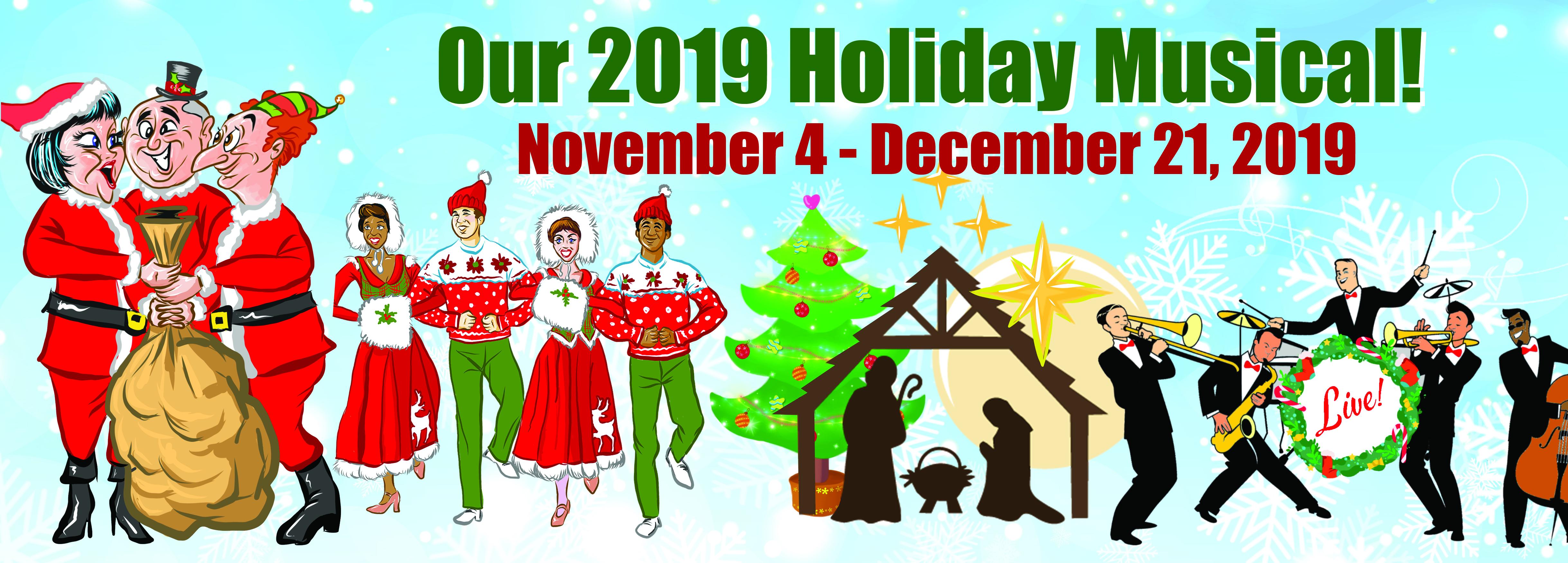 Christmas In Birdsboro 2019 Hunterdon Hills Playhouse   2019 Holiday Musical